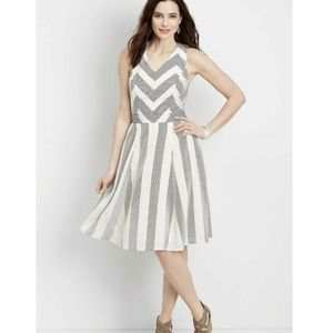 Maurices Striped Strappy Back Dress